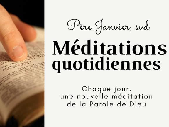 Méditations bibliques quotidiennes