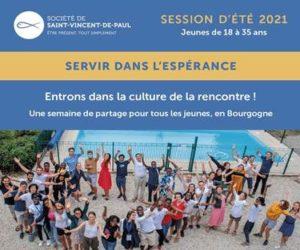 La session d'été jeunes de la Société de Saint-Vincent-de-Paul